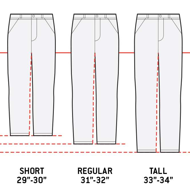 Inseam Comparison Image