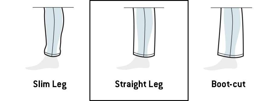 Leg Opening Comparison Image