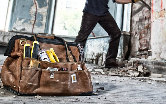 carhartt tool bag. learn about our selection of work bags that are built to last | carhartt tool bag