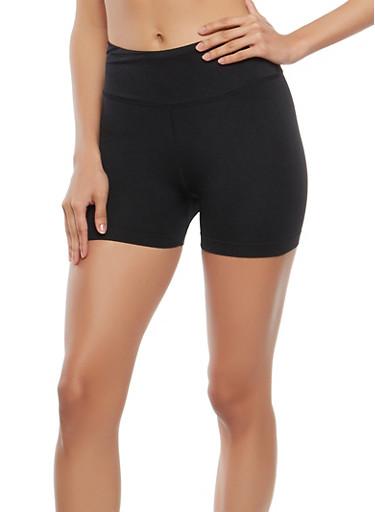 Seamless Bike Shorts,BLACK,large