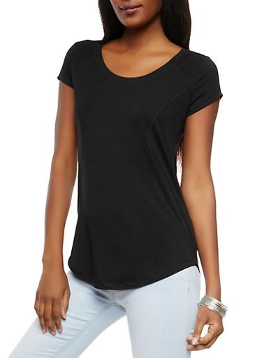 Activewear Tee,BLACK,large