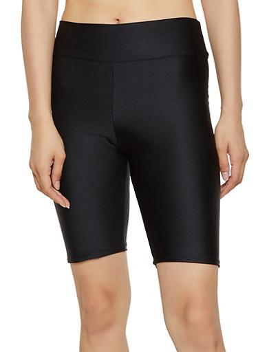 Spandex Bike Shorts | 0060074010070,BLACK,large