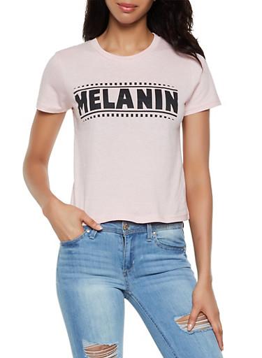 Melanin Tee,MAUVE,large