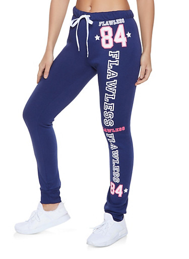 Flawless 84 Joggers,NAVY,large
