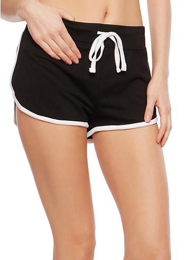 Contrast Trim Active Shorts   Tuggl