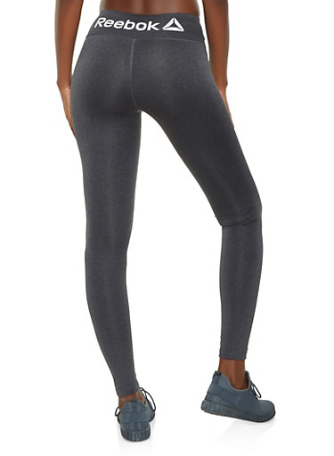 Reebok Active Leggings,CHARCOAL,large