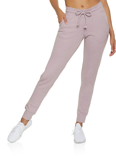 Reebok Joggers with Two Pockets,LAVENDER,large
