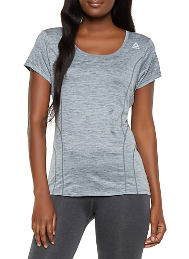 Reebok Marled Active Top,GRAY,large