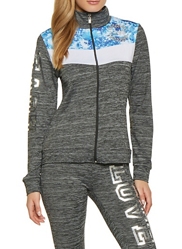 Love Activewear Sweatshirt | 1058038347660,BLUE,large