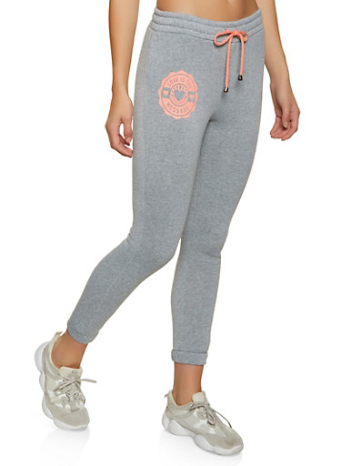 Love is The Message Joggers,GRAY,large
