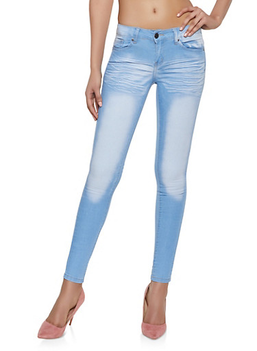 VIP Push Up Skinny Jeans | Light Midrise,LIGHT WASH,large