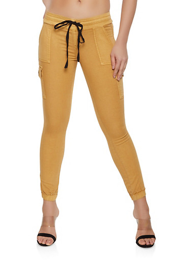 Cargo Joggers | 1074065300260,MUSTARD,large
