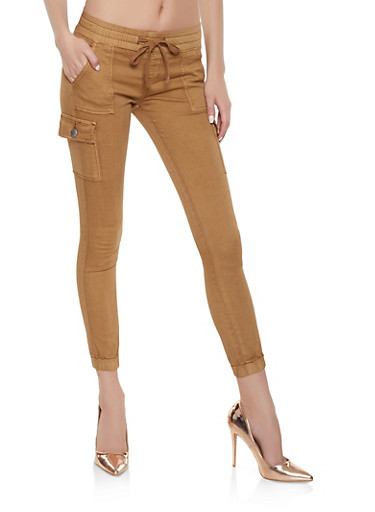 VIP Cargo Joggers,BROWN,large