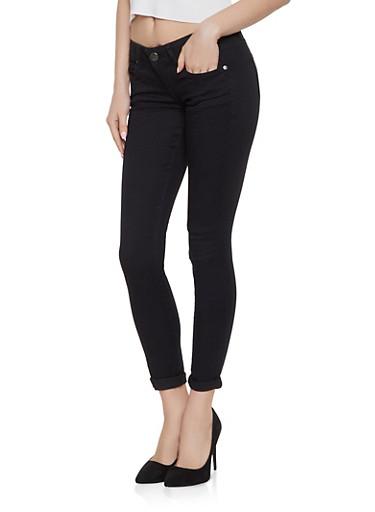 VIP Push Up Skinny Jeans | Black,BLACK,large