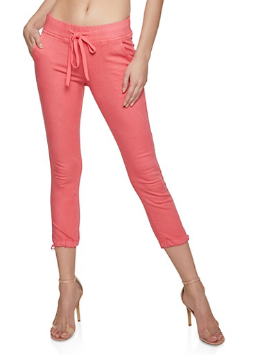 Basic Joggers | Coral,CORAL,large