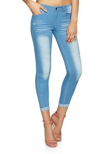 VIP Push Up Skinny Jeans | Midrise Basic,LIGHT WASH,large