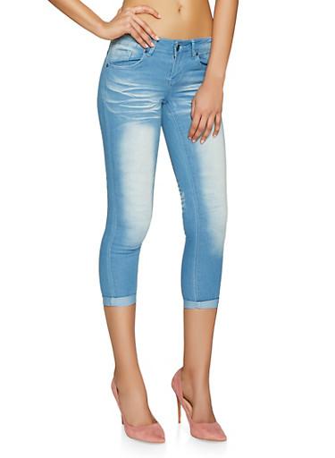 VIP Basic Push Up Skinny Jeans,LIGHT WASH,large