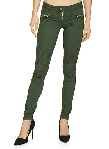 VIP Push Up Moto Jeans,HUNTER,large