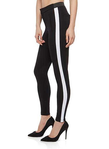 Side Stripe Skinny Pants | Tuggl