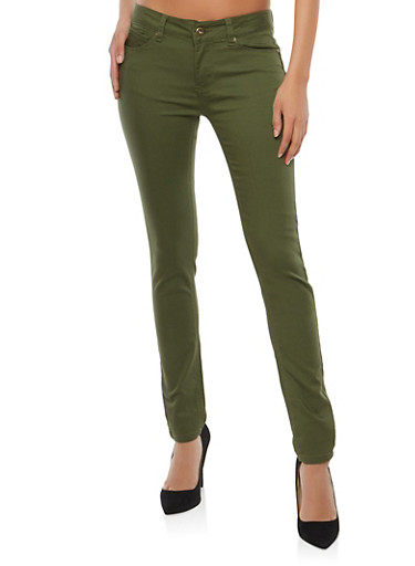 WAX Push Up Colored Skinny Jeans | Tuggl