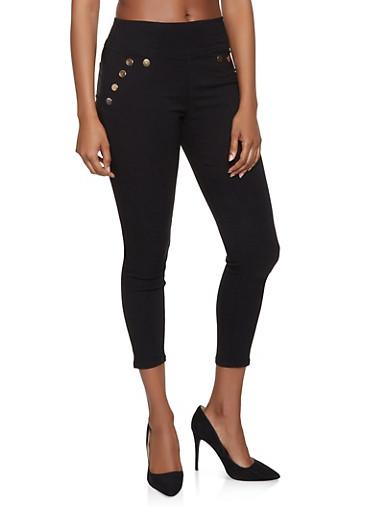 Hyperstretch Sailor Jeans,BLACK,large