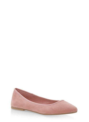 Pointed Toe Skimmer Flats | Tuggl