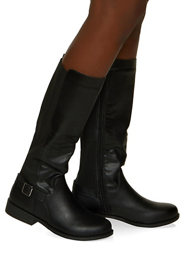 Gore Tall Riding Boots,BLACK,large