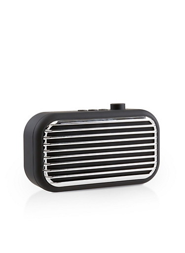 Polaroid Retro Style Wireless Speaker,BLACK,large