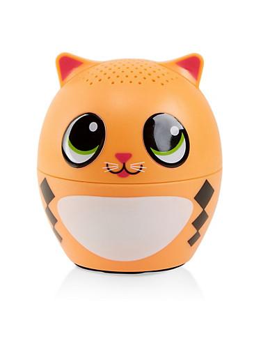 Cat Wireless Bluetooth Speaker,ORANGE,large