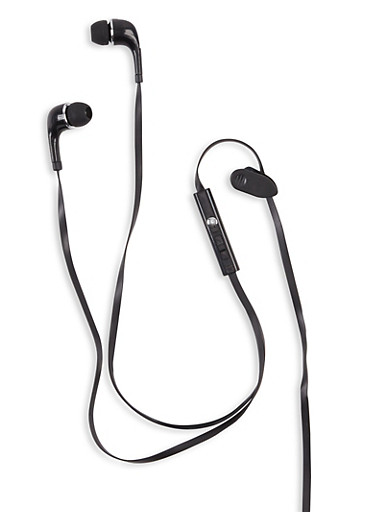 Total Volume Control Earbuds,BLACK,large