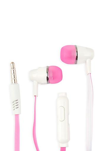 Universal Stereo Earphones,PINK,large