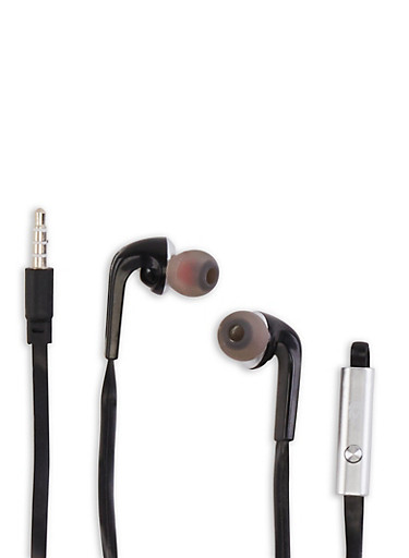 Super Bass Stereo Earbuds,BLACK,large