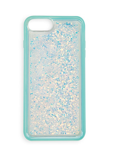 Glitter Waterfall iPhone Case | 1120074391799,MINT,large