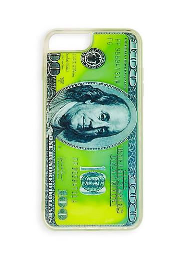 100 Dollar Bill iPhone Case,GREEN,large