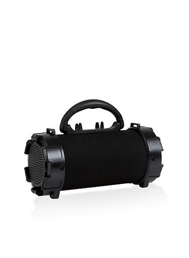 Wireless Portable Speaker,BLACK,large