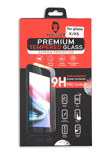 iPhone Tempered Glass Screen Protector,CLEAR,large