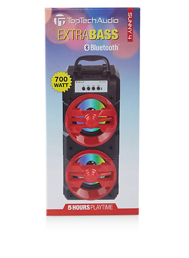 Extra Bass Bluetooth Speaker   700W,RED,large