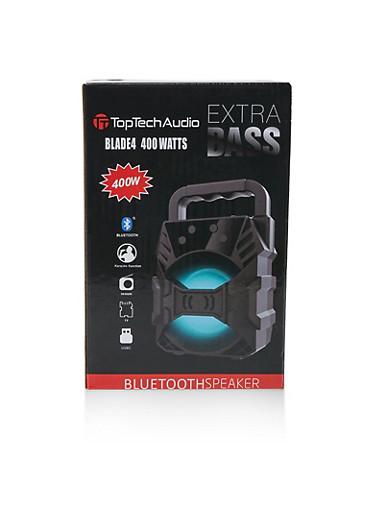 Extra Bass Bluetooth Speaker | 400W,BLACK,large