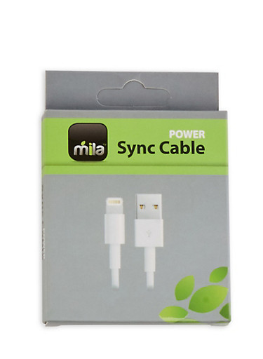 iPhone USB Cable,WHITE,large