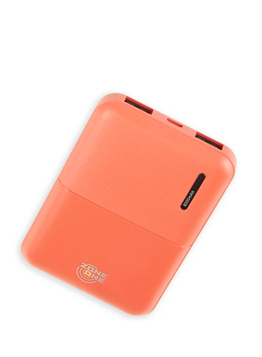 Orange Portable Power Bank,RED,large