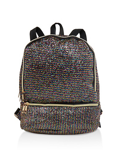 Rainbow Backpack,MULTI COLOR,large