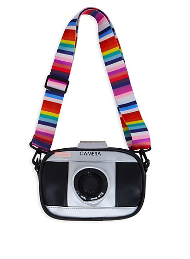Camera Crossbody Bag,BLACK,large