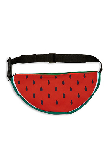 Watermelon Fanny Pack,RED,large
