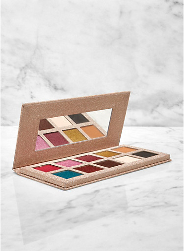 Ten Shade Eye Shadow Palette,MULTI COLOR,large