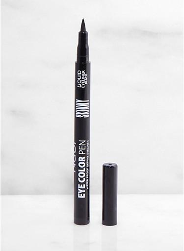 Waterproof Skinny Liquid Eyeliner,BLACK,large
