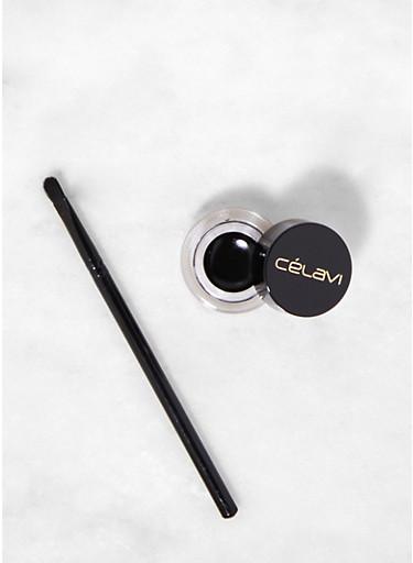 Waterproof Gel Eyeliner,BLACK,large
