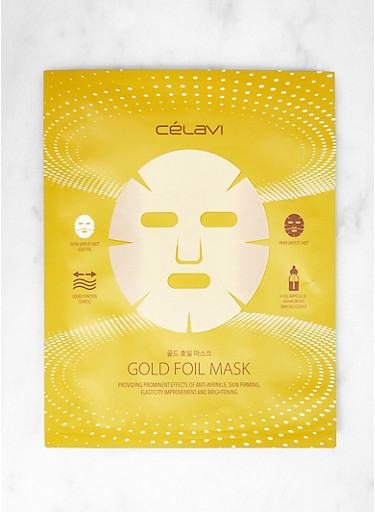 Gold Foil Sheet Mask,GOLD,large