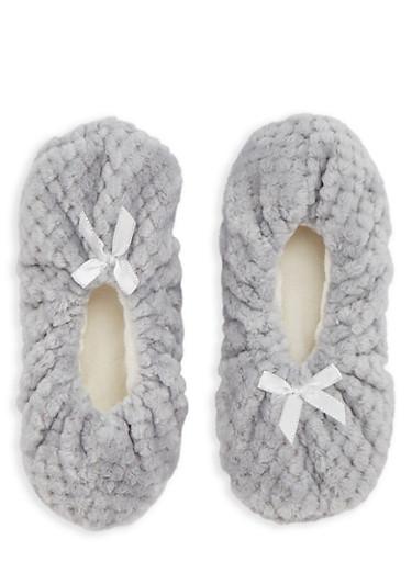 Fuzzy Slipper Socks | Tuggl