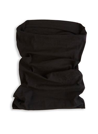 Multifunctional Scarf,BLACK,large