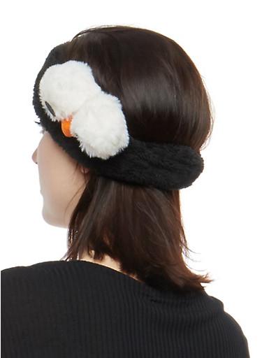 Soft Critter Headband,BLACK,large